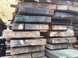 Eikenhouten planken 4 meter lang, 25 - 32cm breed_